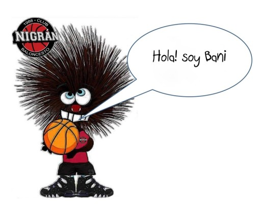 BANI mascota baloncesto